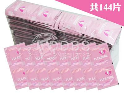 【DDBS】C0118 樂趣衛生套 保險套 (貼身小號49mm) 144片 (7.3折)