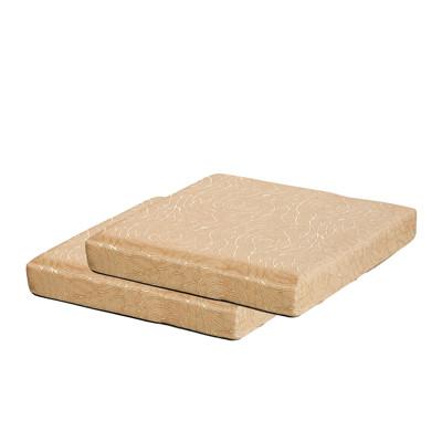【CLEO】8公分厚四方墊防潑水緹花/乳膠皮/沙發坐墊 (8.1折)