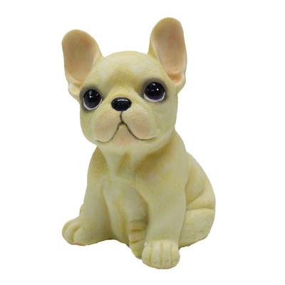 【摩達客寵物】超萌擬真奶油超旺鬥牛犬創意狗狗寵物擺飾(單入) (4.9折)