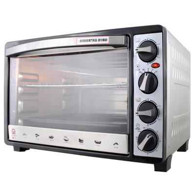 晶工牌 30L雙溫控不鏽鋼旋風烤箱 JK-7303 (8.3折)