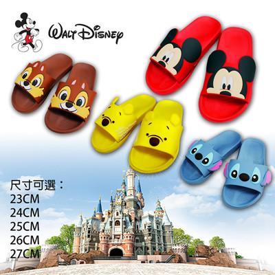 韓版-迪士尼造型室內拖鞋 (4.4折)