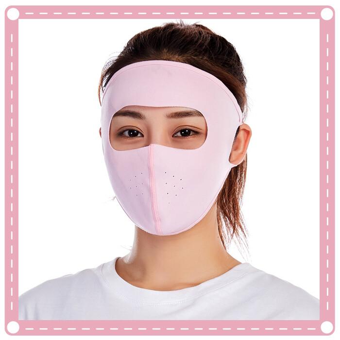 防曬透氣全臉口罩 面罩