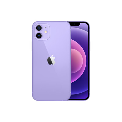 Apple iPhone 12 128G 紫色+貼+套 (8.9折)