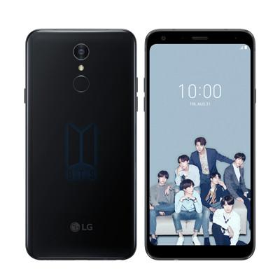 LG Q7+ BTS聯名專屬手機(4G/64G)+BTS人形磁鐵 (5.9折)