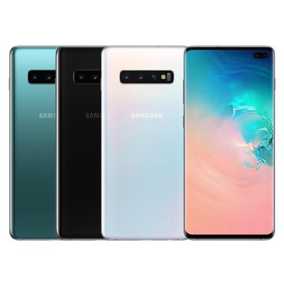 Samsung Galaxy S10+ (8G/128G)三鏡頭6.4吋雙卡機+保貼+內附保護殼 (4.7折)
