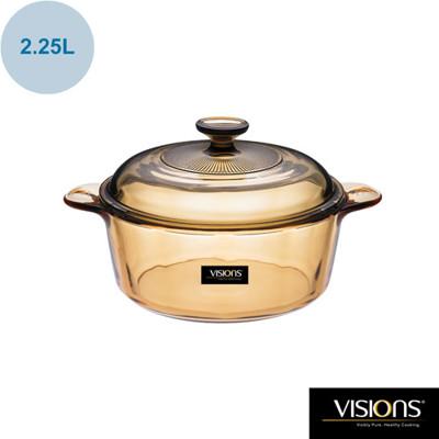 美國康寧 Visions 2.25L晶彩透明鍋 CRE-VS22 (8折)