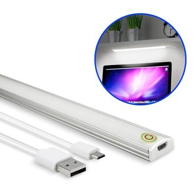 USB 觸控開關式 超薄型LED可調光鋁合金燈管(LI-02) (6折)