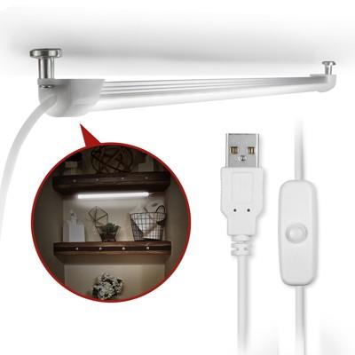 USB 線控開關式 磁吸式超薄型LED燈管(LI-01) (4.8折)