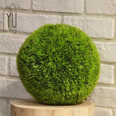 【YU Living】仿真松針草球裝飾樹球/人造植物(25CM,綠色) (6.4折)