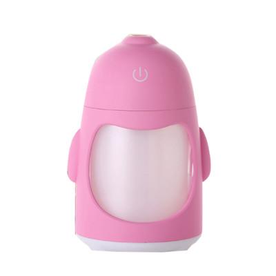 elite living可愛企鵝usb水氧噴霧安眠夜燈水氧機(藍) (2.6折)