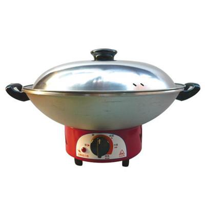 【永新牌】30cm電火鍋(YS-300)紅色 (3.2折)