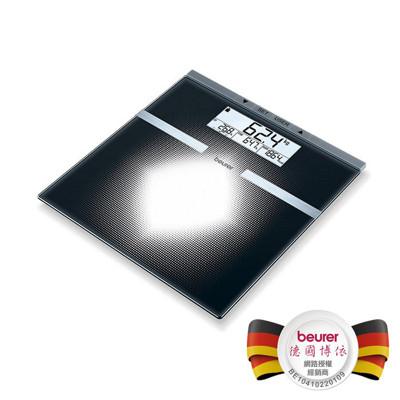 【德國博依beurer】可量測體重、體脂率、水分率、肌肉率、骨骼重量多功能體脂肪計BG21 (8.6折)