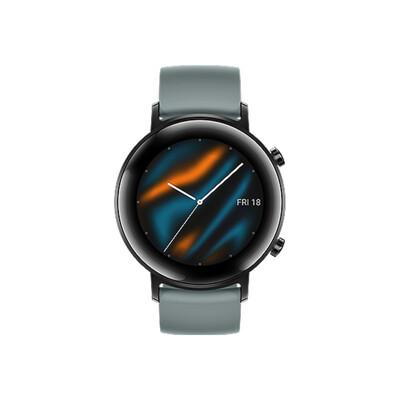 【HUAWEI】WATCH GT 2 GT2 42mm 智慧手錶(湖光青) 公司貨 (10折)