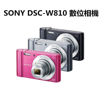 【SONY】 DSC-W810數位相機(公司貨)贈32G卡.電池 (9.7折)