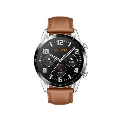 現貨【HUAWEI】WATCH GT 2 GT2 46mm 智慧手錶 時尚款(砂礫棕) (9.2折)