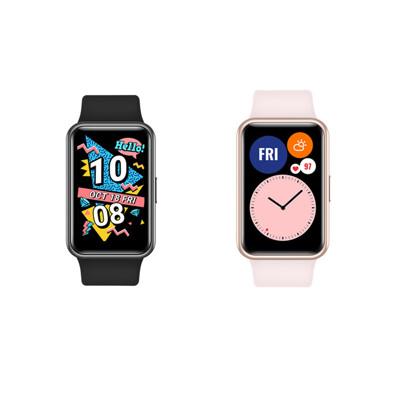 送原廠22.5快充【HUAWEI】WATCH FIT 智慧手環 智慧手錶 (8.9折)
