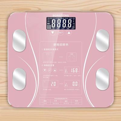 10合1智能LCD智能秤/體重計【玫瑰金/黑色任選】 (3.9折)