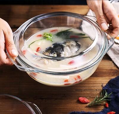 湯煲玻璃鍋 650ml (4.7折)