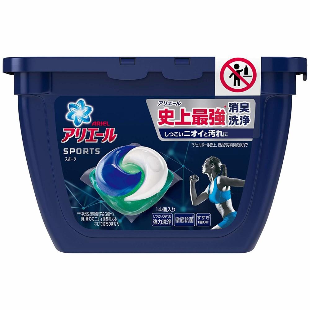 日本 p&g 史上最強  洗衣膠球14顆 盒裝