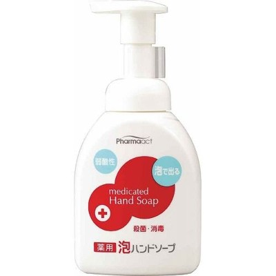 日本 熊野油脂 PharmaACT 弱酸性 泡沫洗手乳 250ml (8.4折)