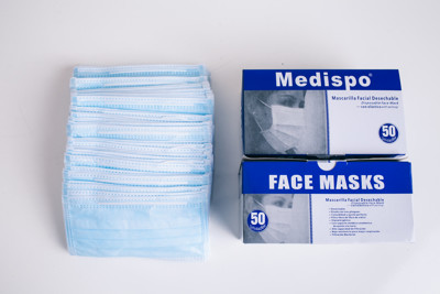 高效防護三層不織布口罩【外文紙盒】最低一片0.86 (0.2折)