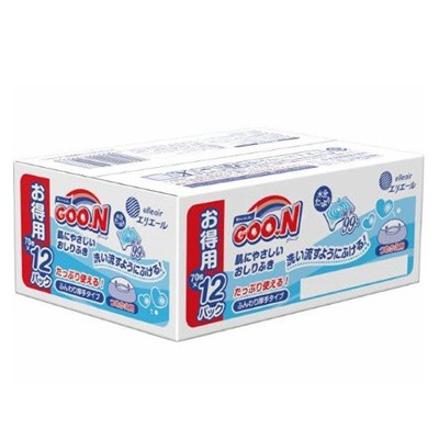 日本大王 境內版 99%純水 嬰兒 護膚 濕紙巾 70枚 (1小包) (4折)