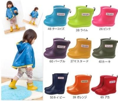 Stample 兒童雨鞋(附贈鞋墊) 日本製 (7.1折)