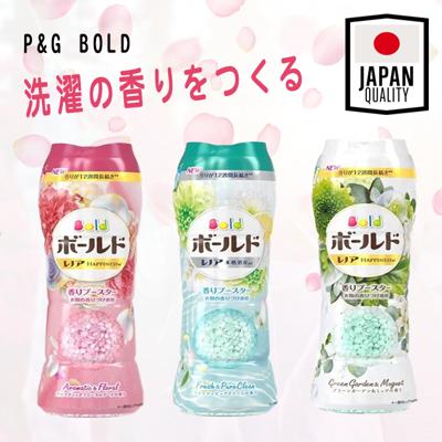 日本 P&G BOLD衣物香氛 香香豆 520ml (8.5折)