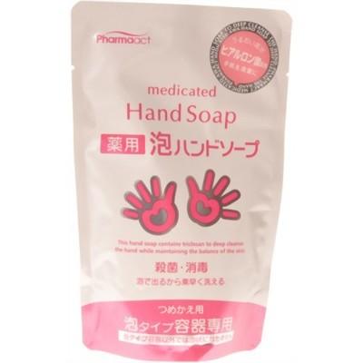 日本 熊野油脂 PharmaACT 玻尿酸 泡沫洗手乳 200ml (7.8折)