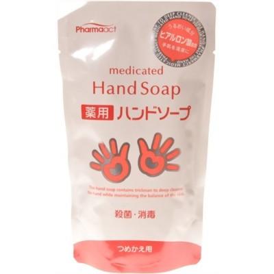 日本 熊野油脂 PharmaACT 玻尿酸 洗手乳 200ml (7.7折)