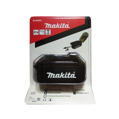 MAKITA牧田 B-69901電池盒造型30入起子頭組 (6折)