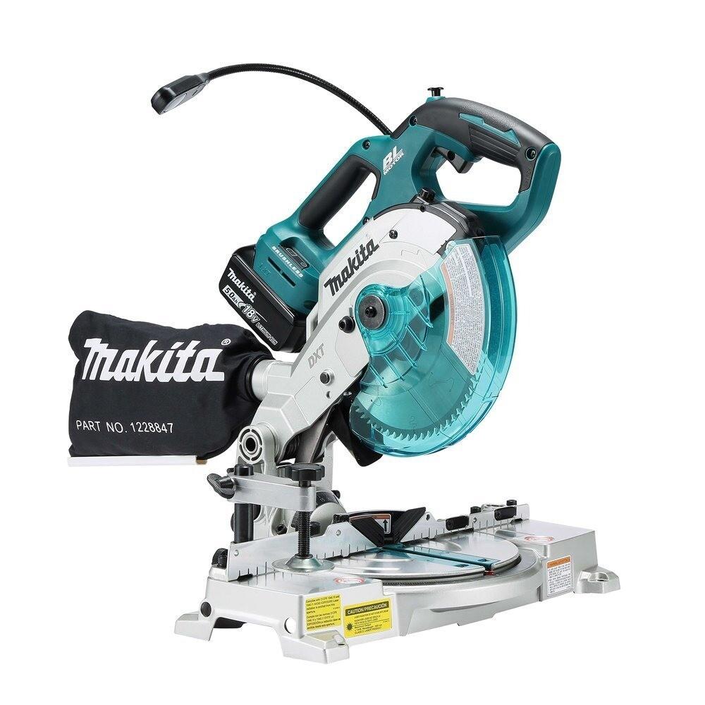 makita牧田 dls600z 充電式多角度切斷機 18v(單機) 無電池 無充電器