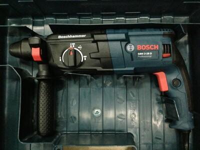 德國BOSCH博世 GBH 2-28D 850W 三用免出力電鑽 四溝免出力鎚鑽 (8.5折)