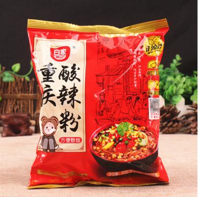 正宗白家陳記 重慶酸辣粉 四川特產方便麵 速食粉絲 85g (4.6折)