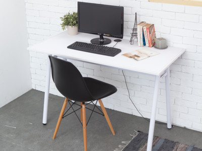 【kihome】復刻馬鞍皮革工作桌(二色任選)免運電腦桌/辦公桌/書桌/會議桌