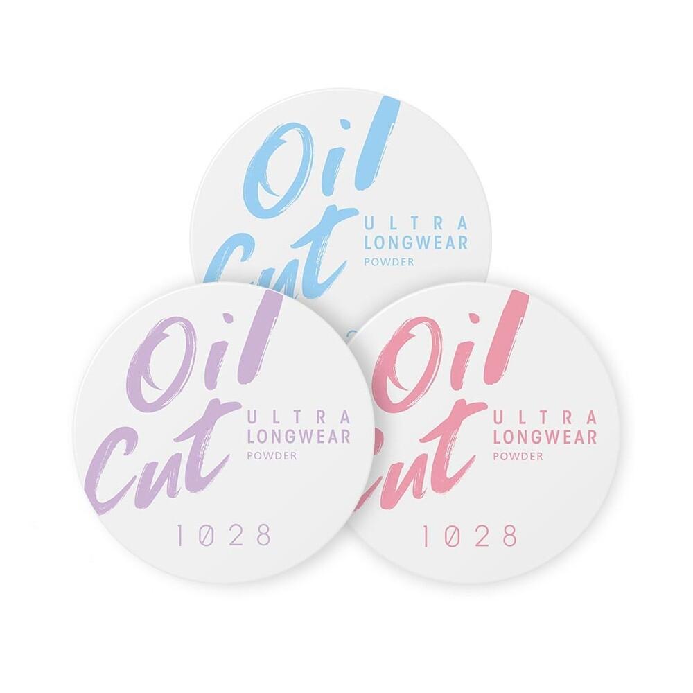 1028 oil cut!超吸油嫩蜜粉 蜜粉 控油 持妝 紫微光/透明