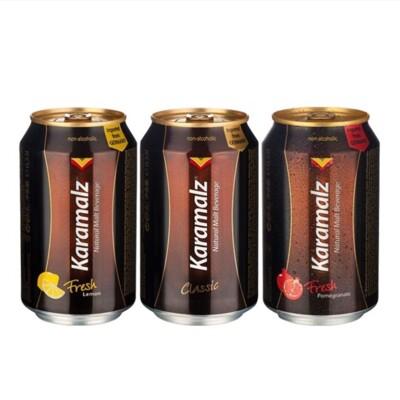 《FORUN BEAUTY》卡麥隆Karamalz德國進口黑麥汁330mlX6入 原味/檸檬/紅石榴 (10折)