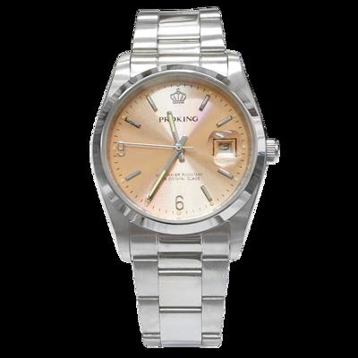 PROKING皇冠 個性都市全鋼日窗腕錶 大款 (6.2折)