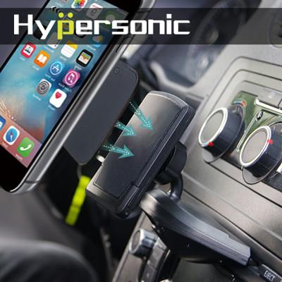 Hypersonic HPA585 磁吸式CD孔手機架 磁鐵車用手機架 (8折)