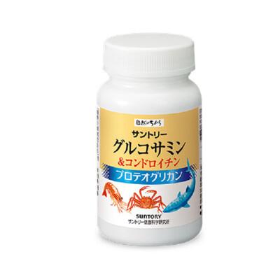【三得利suntory】固力伸 葡萄糖胺+鯊魚軟骨 180錠/瓶 (9.6折)