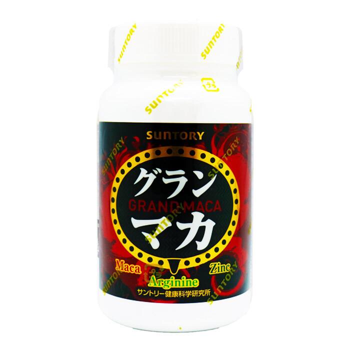 suntory 三得利御瑪卡 精胺酸+鋅 (120顆/瓶)