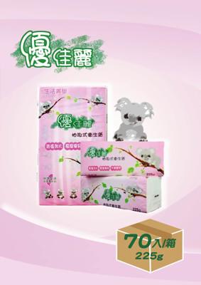 【熱銷商品】.獨家.優佳麗超厚實抽取式衛生紙-70包裝 (0.1折)