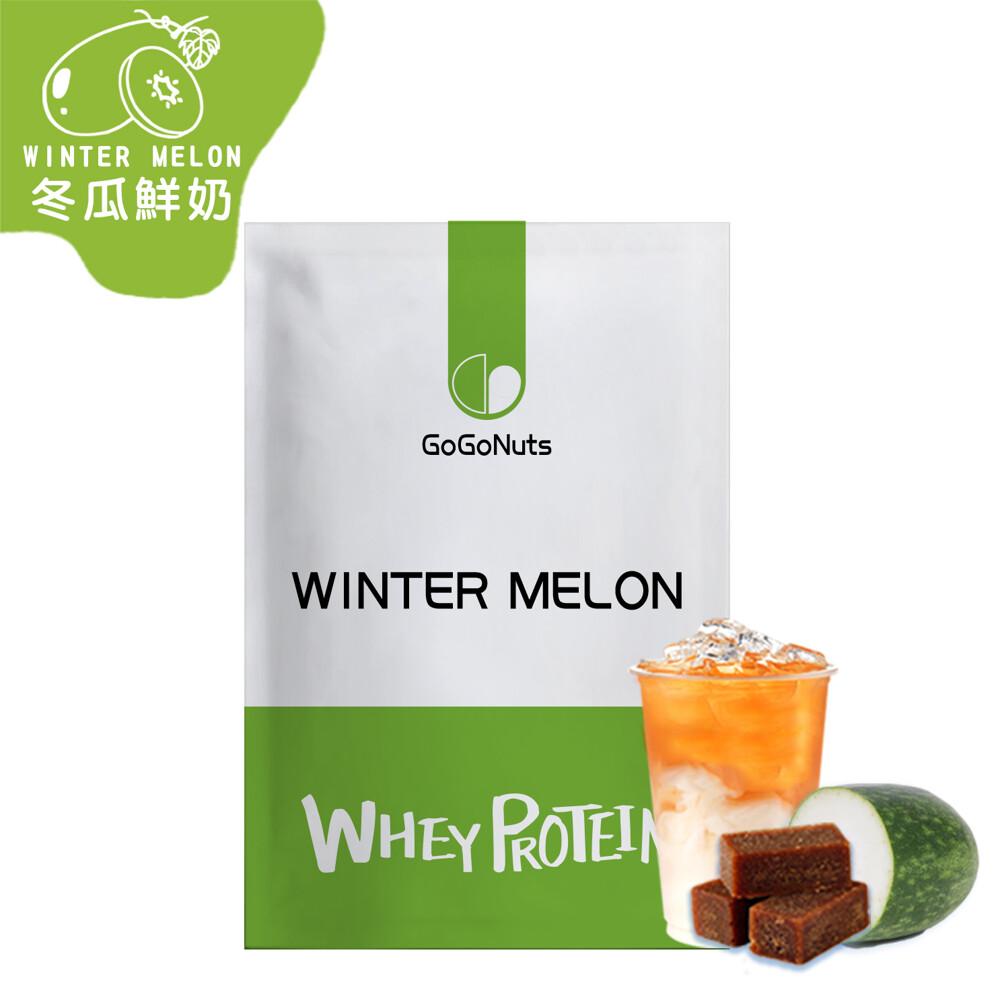 果果堅果乳清蛋白飲-冬瓜鮮奶(35g/包) 台灣生產