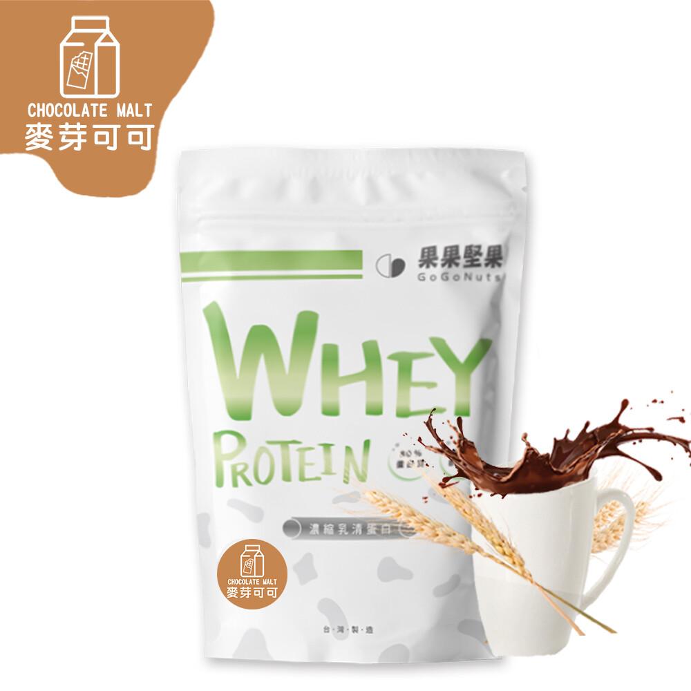 果果堅果乳清蛋白飲 麥芽可可(500g/包) 台灣生產