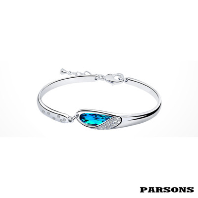 【PARSONS】守望系列 天鵝的羽翼 S925純銀手環 (8折)