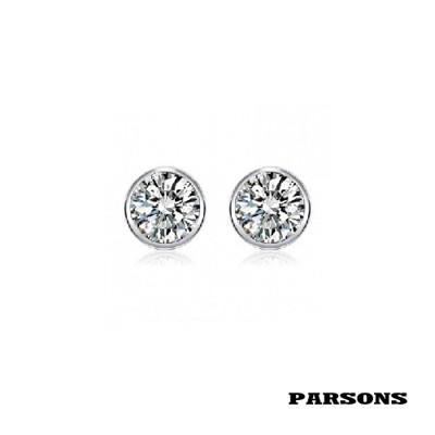 【PARSONS】聽見幸福 極簡紐約 925純銀耳釘 (8折)