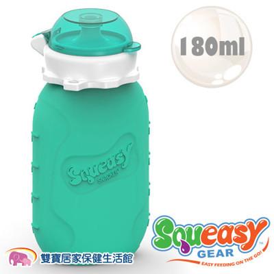 美國 SQUEASY QQ 隨身瓶/水壺/水杯 180ml - 水藍 (7.7折)
