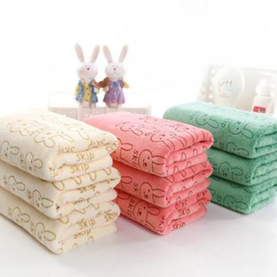 兔子柔膚吸水速乾大浴巾 (1.7折)
