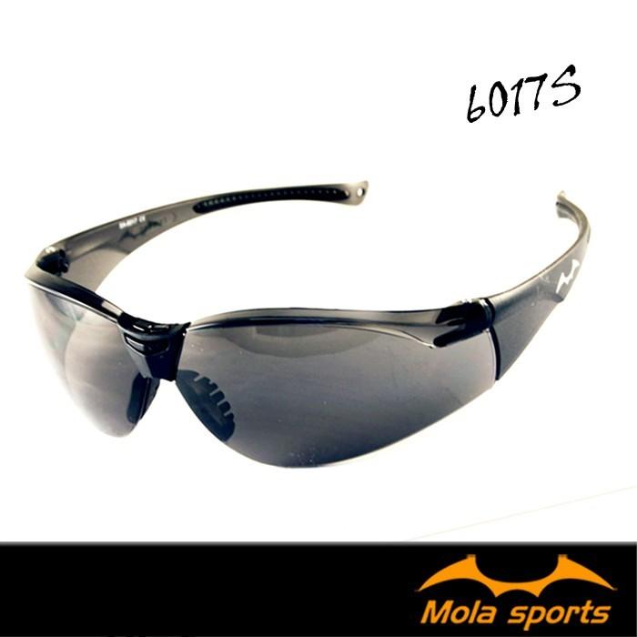 mola摩拉護目鏡運動安全太陽眼鏡眼鏡防飛沫防風防沙防塵深灰鏡片超輕量男女 6017s