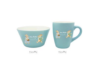 安妮兔/英國熊色釉杯碗組 破盤熱銷 (5.3折)